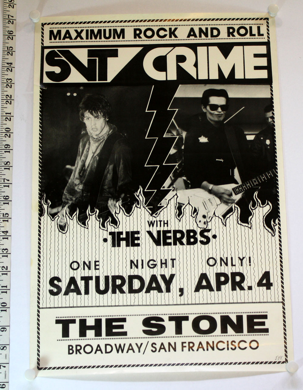 CRIME w/ SVT, Verbs at The Stone
