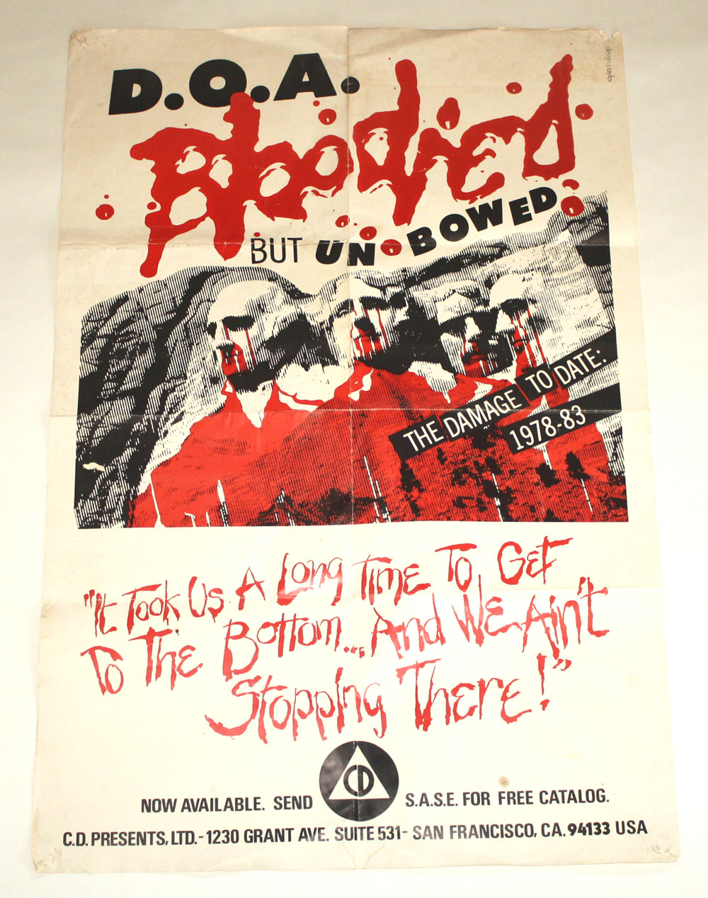 DOA Bloodied But Unbowed poster