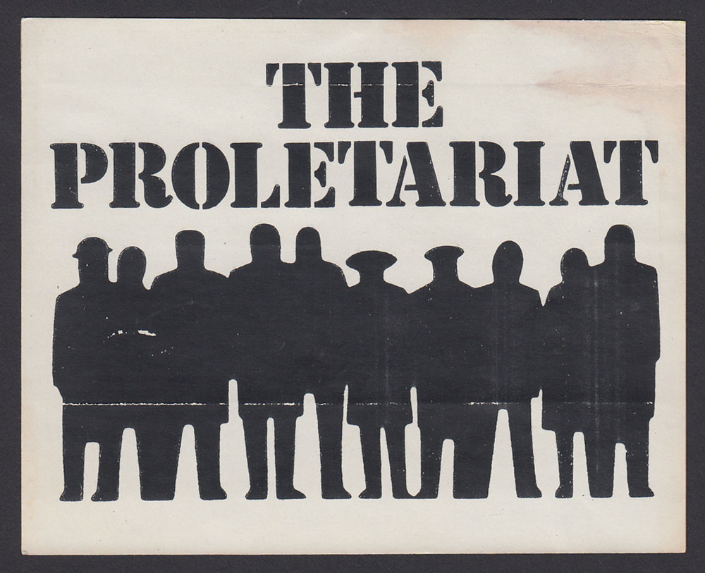 PROLETARIAT sticker