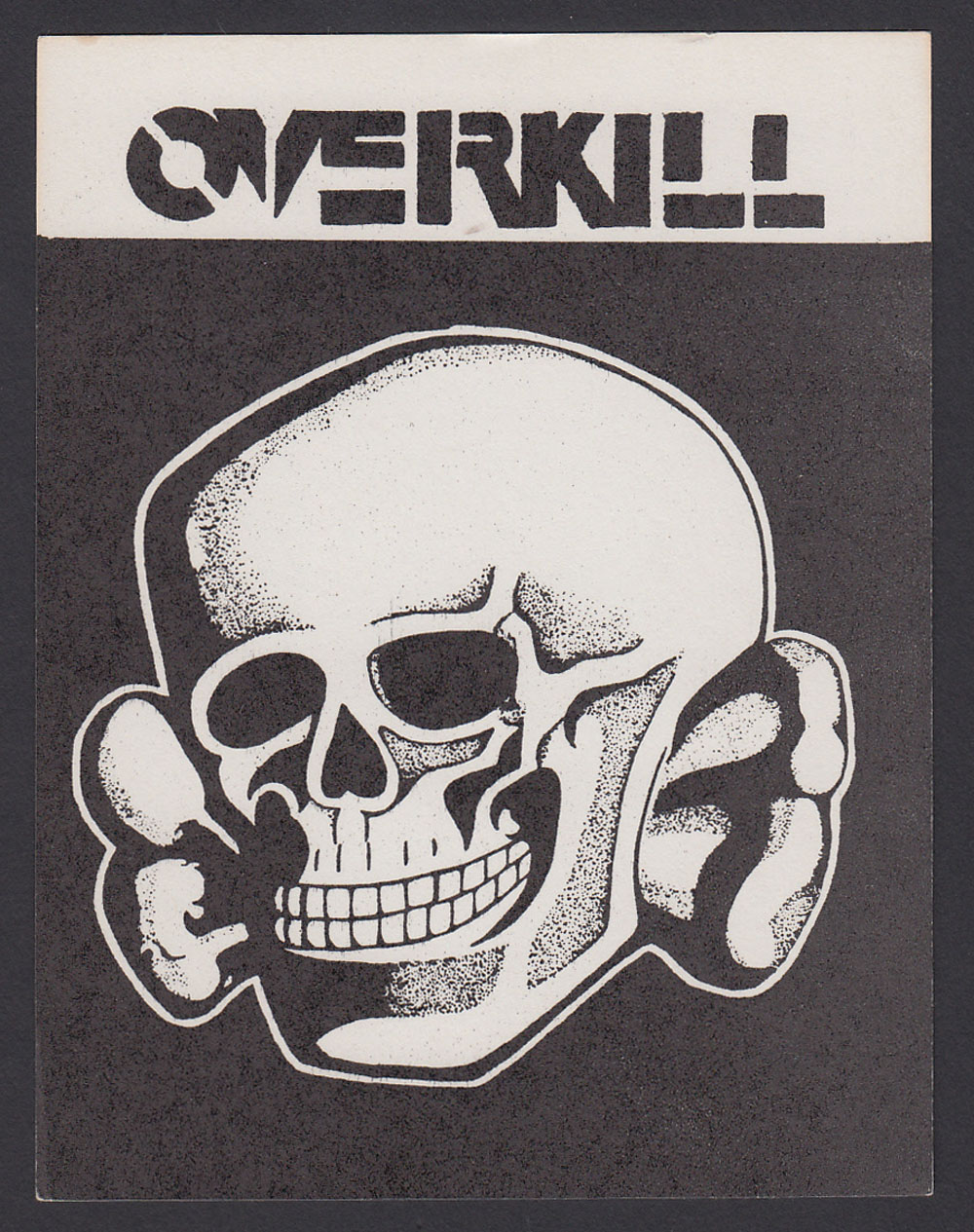OVERKILL sticker