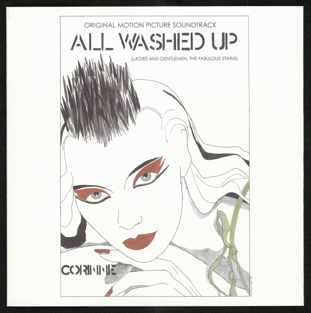 ALL WASHED UP (Ladies and Gentlemen, The Fabulous Stains) Original Motion Picture Soundtrack 2xLP