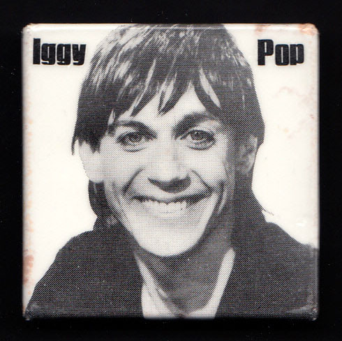 IGGY POP Lust For Life badge