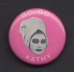 GO-GO'S badge #4