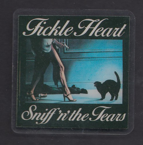 SNIFF 'N' THE TEARS badge