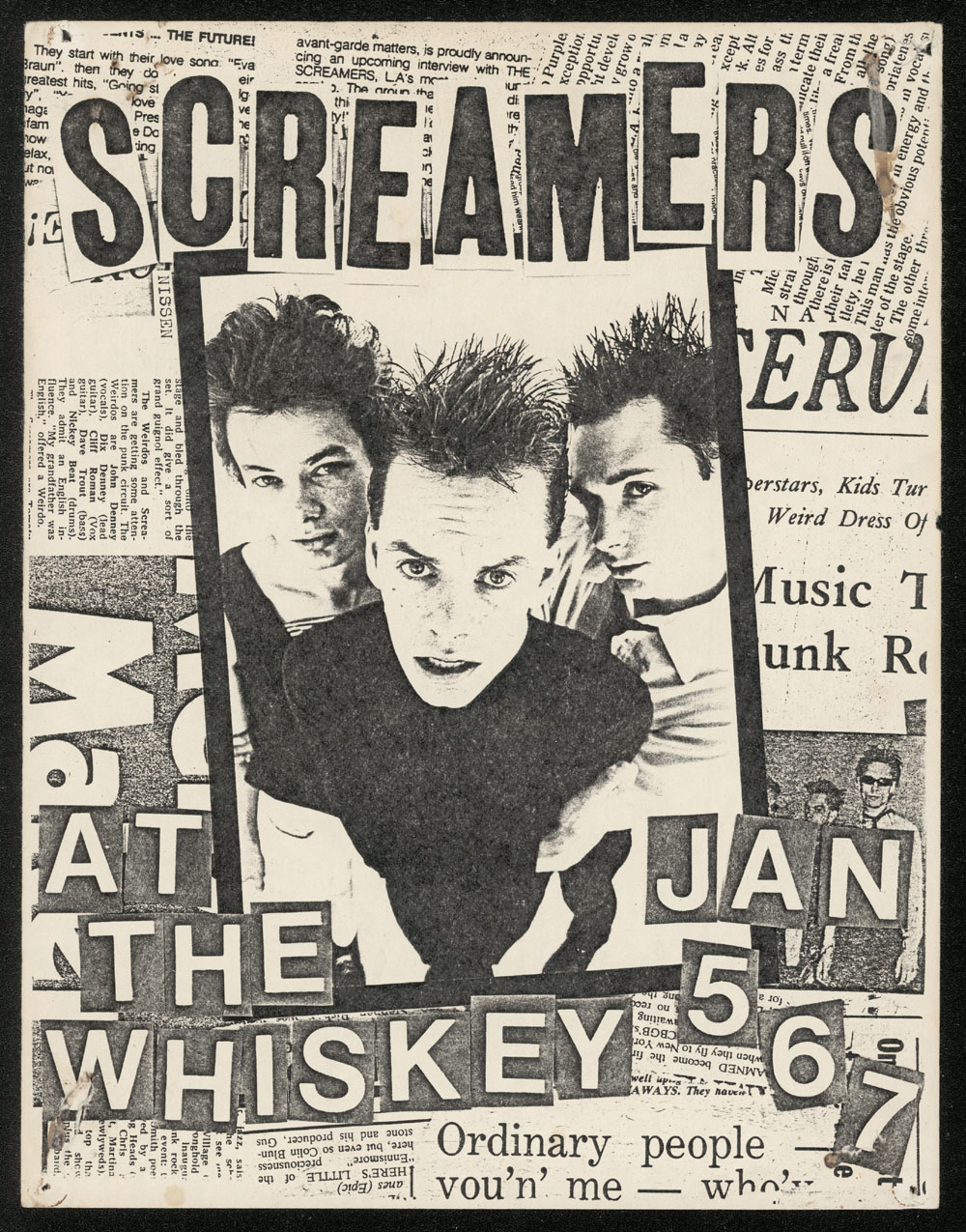 SCREAMERS at the Whisky