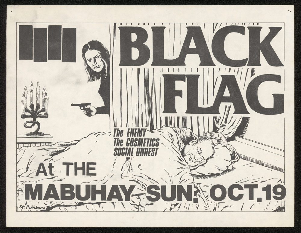1980 ~ BLACK FLAG at Mabuhay Gardens (SF)