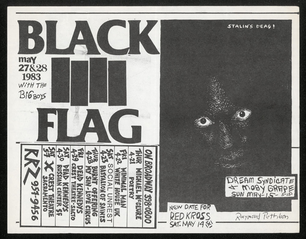 1983 ~ BLACK FLAG at On Broadway (SF)