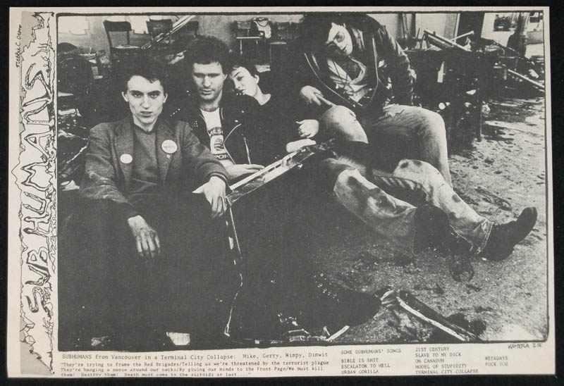 SUBHUMANS clipping