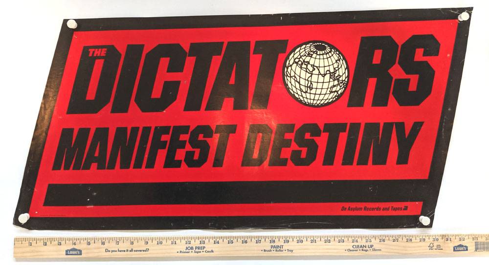 DICTATORS Manifest Destiny POSTER