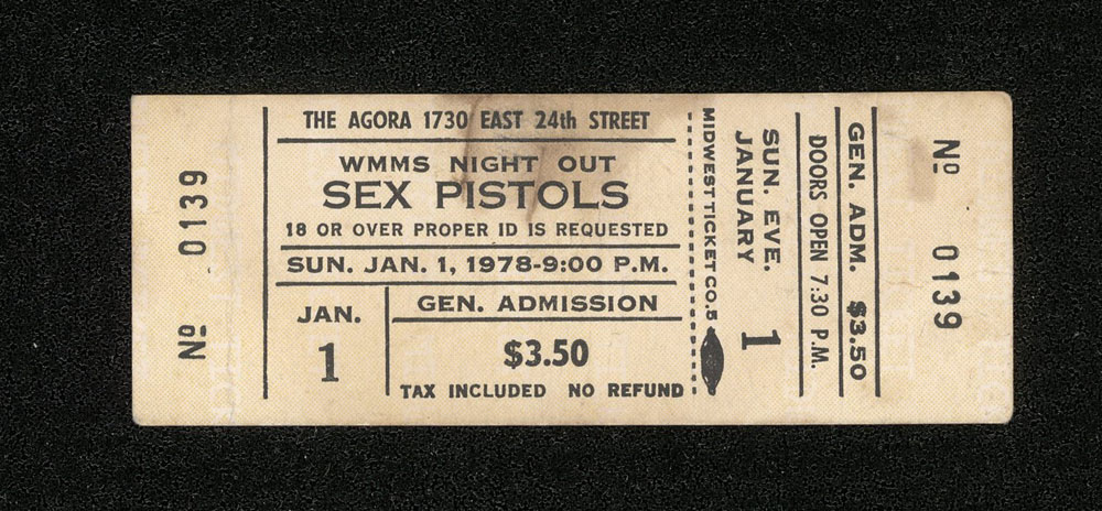 SEX PISTOLS at The Agora 1.01.78
