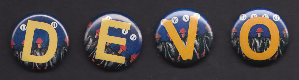 DEVO Freedom of Choice badge SET