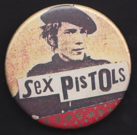 SEX PISTOLS badge #3