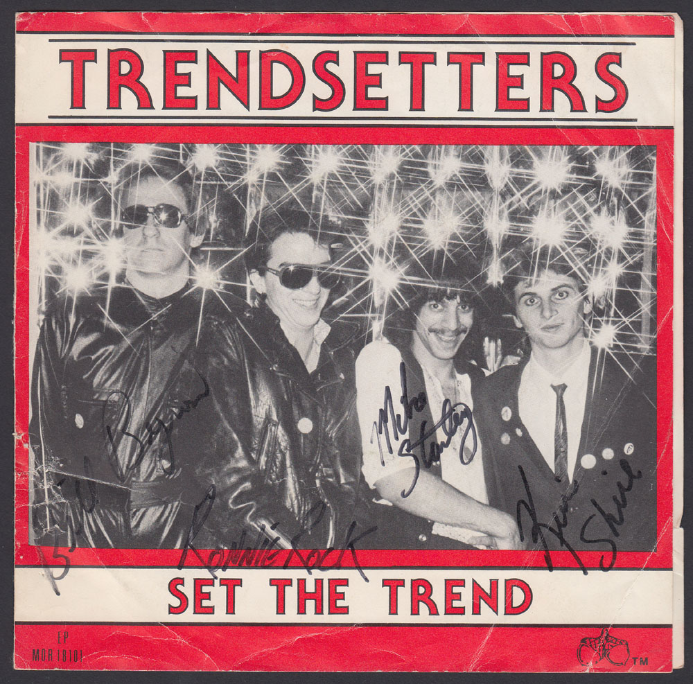 TRENDSETTERS ~ Set The Trend EP (Mystic Oak 1981)