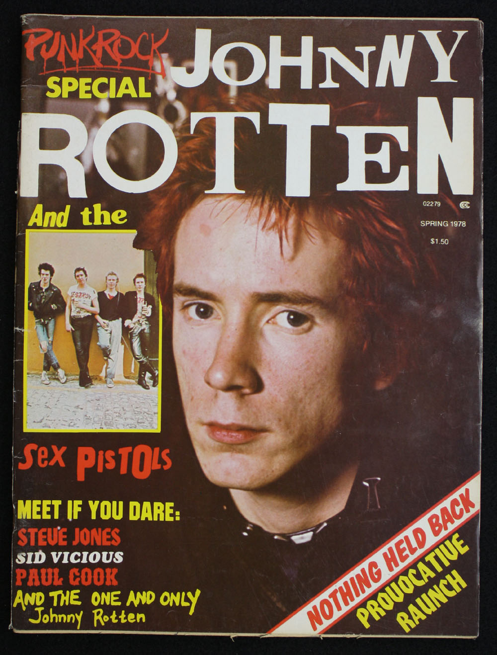 PUNK ROCK SPECIAL: Johnny Rotten and the Sex Pistols