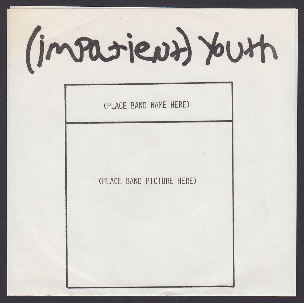 IMPATIENT YOUTH ~ EP (1980)