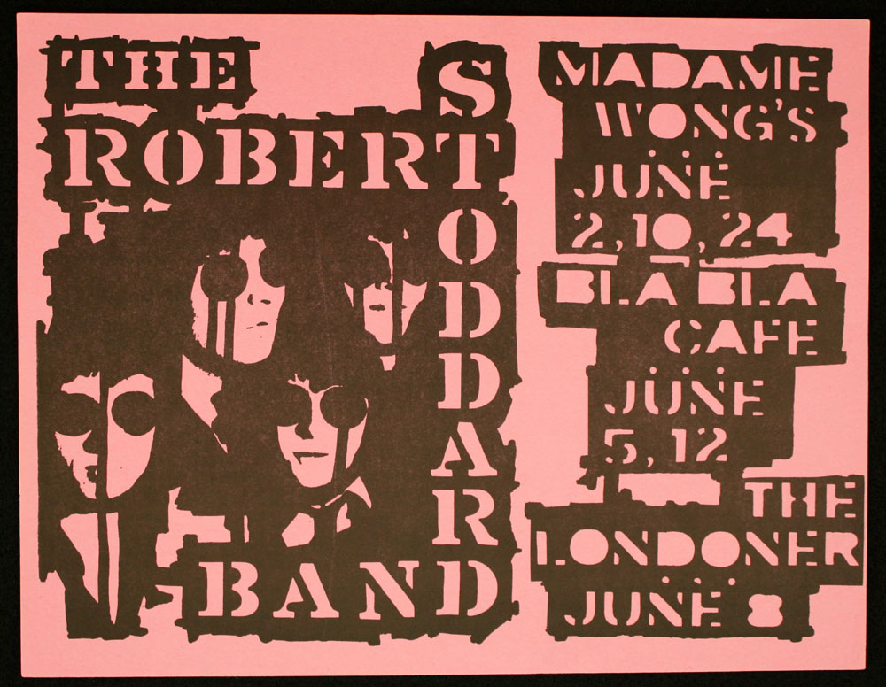 ROBERT STODDARD BAND at Madame Wong's, Bla Bla Cafe, Londoner