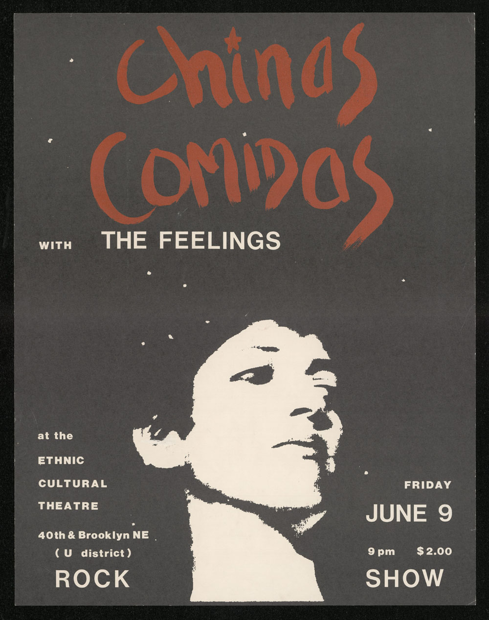 CHINAS COMIDAS w/ The Feelings POSTER