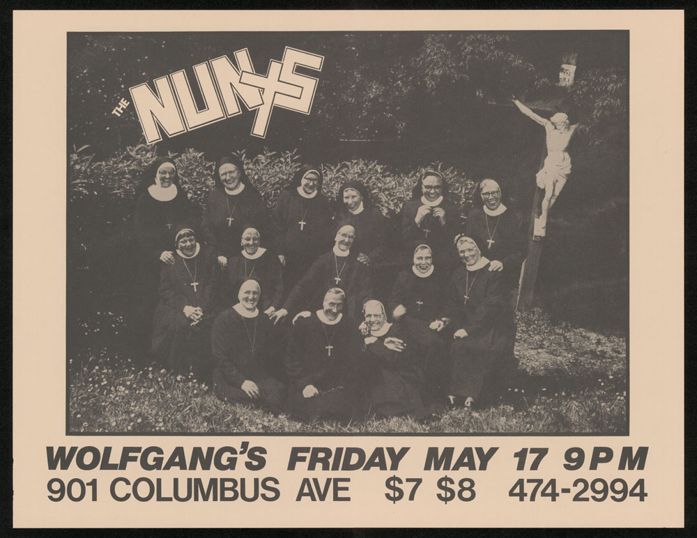 NUNS at Wolfgang's POSTER