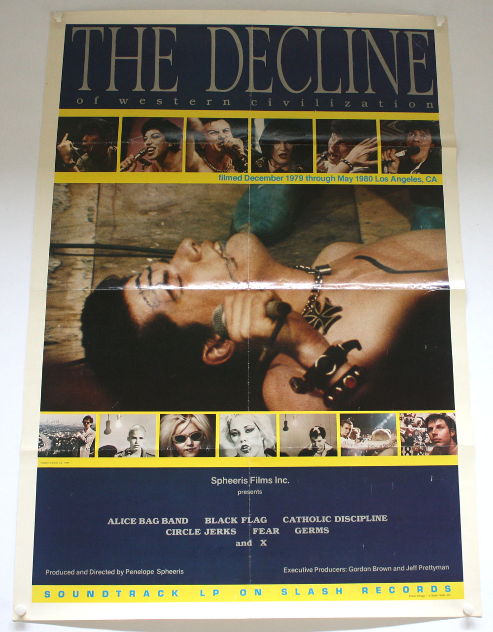 DECLINE OF WESTERN CIVILIZATION poster