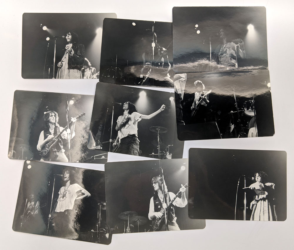 PATTI SMITH photo set
