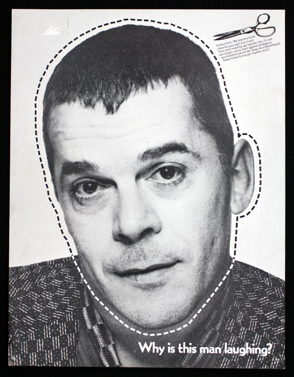 IAN DURY & THE BLOCKHEADS promo flier