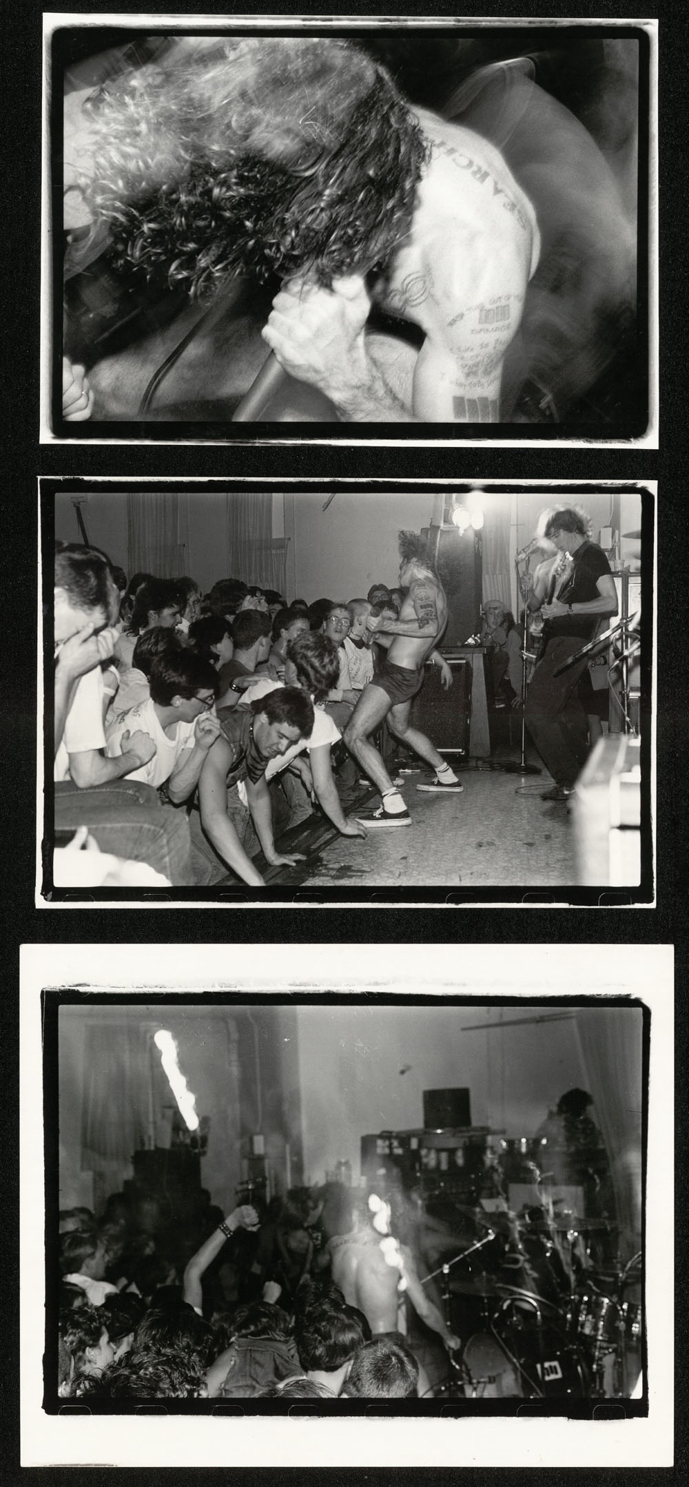 BLACK FLAG photo set