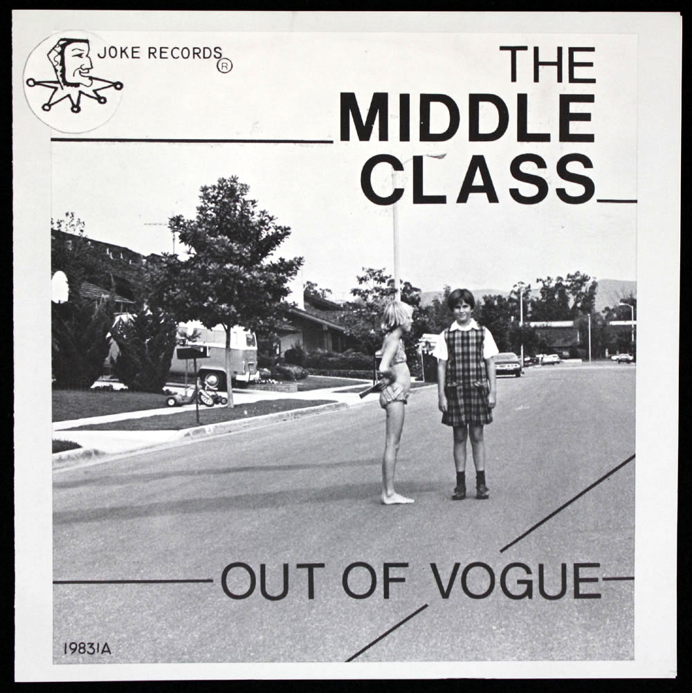MIDDLE CLASS ~ Out of Vogue EP (Joke 1978)