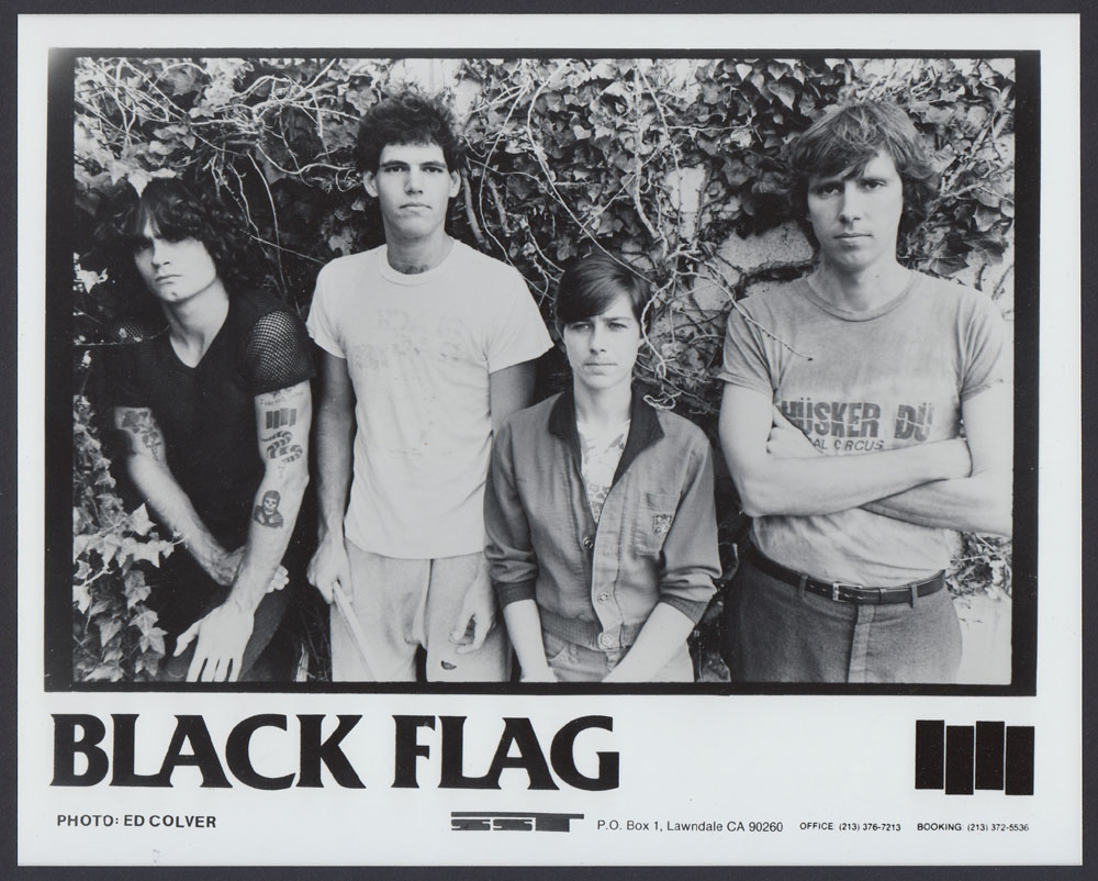BLACK FLAG promo photo
