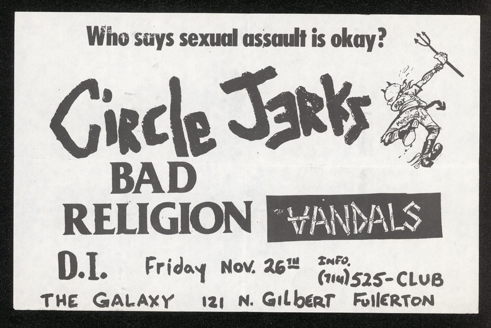 CIRCLE JERKS w/ Bad Religion, Vandals, DI at The Galaxy