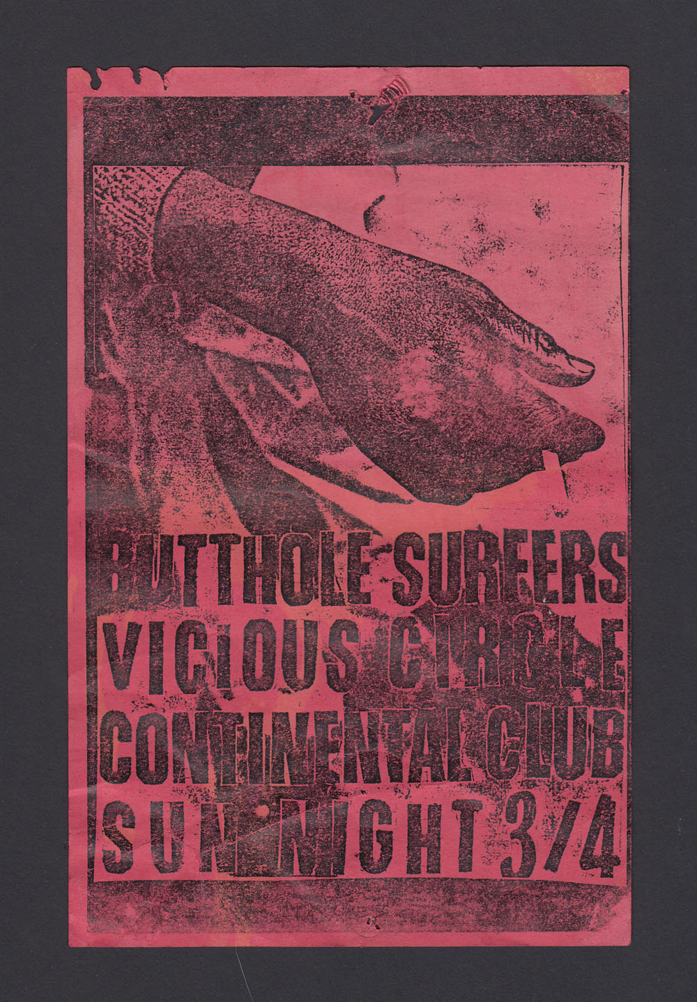 BUTTHOLE SURFERS w/ Vicious Circle at Continental Club