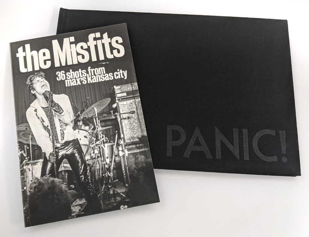 THE RODEO BOOK COMBO: The Misfits + Panic! (Black Flag)