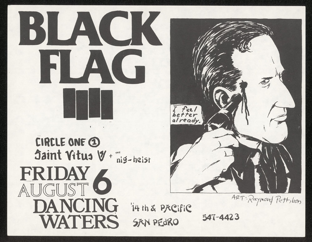1982 ~ BLACK FLAG at Dancing Waters (San Pedro)