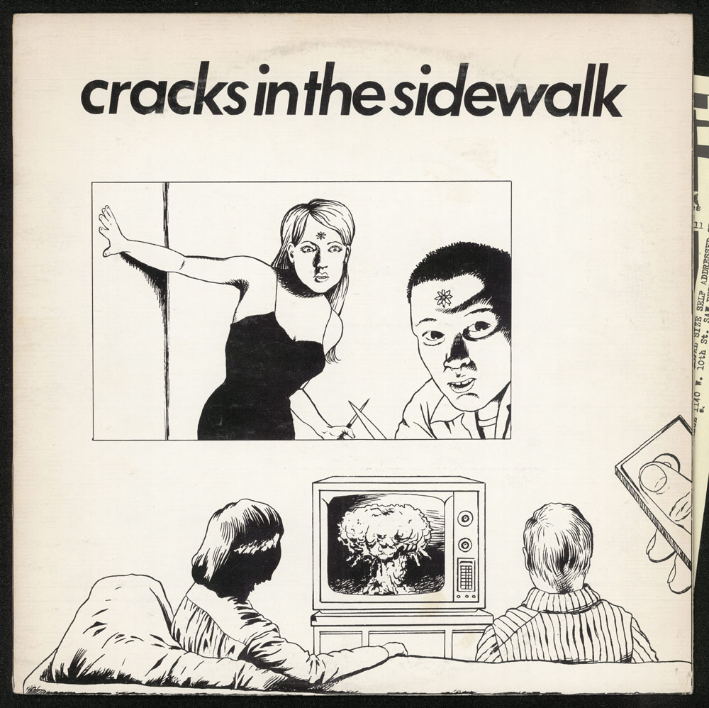 CRACKS IN THE SIDEWALK compilation LP (New Alliance 1980)
