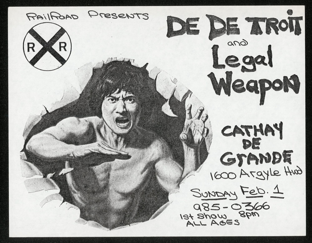 DE DE TROIT w/ Legal Weapon at Cathay de Grande