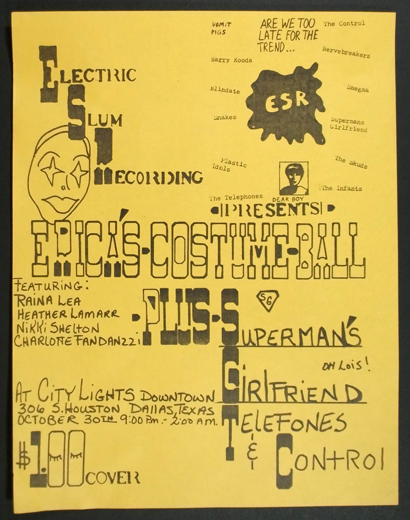ESR presents Superman's Girlfriend, Telefones, Control at City Lights #2
