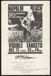 NAPALM BEACH w/ Visible Targets at WREX Videorock Club