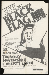 1984 ~ BLACK FLAG at Liberty Lunch (TX)