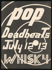 POP w/ Deadbeats at the Whisky