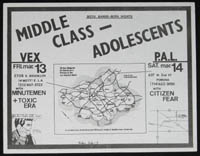 MIDDLE CLASS w/ Adolescents at the Vex and P.A.L.