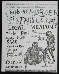 LEGAL WEAPON w/ Twisted Roots, SWA at Music Machine