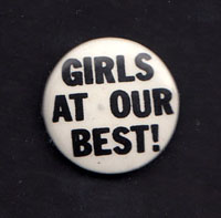GIRLS AT OUR BEST badge