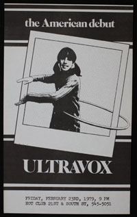 ULTRAVOX at Hot Club