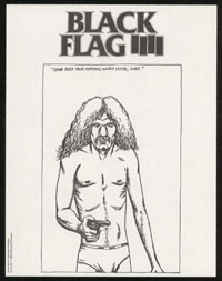 1985 ~ BLACK FLAG newsletter