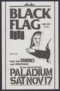1984 ~ BLACK FLAG at the Palladium (LA)