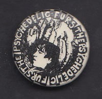 PSYCHEDELIC FURS badge #03