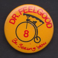 DR. FEELGOOD badge #8