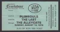 PLIMSOULS w/ Last, Alley Cats at Troubadour 8.12.79