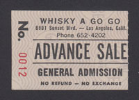 45 GRAVE at the Whisky 3.19.82