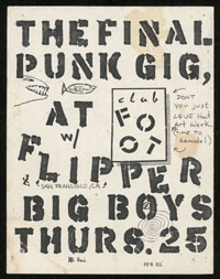 BIG BOYS w/ Flipper at Club Foot SET