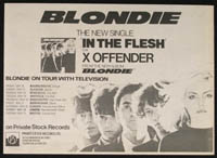 BLONDIE on tour